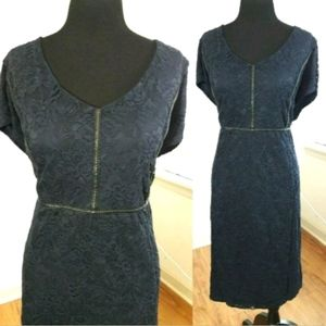 Torrid Blue Lace Dress Women's Plus Size 28